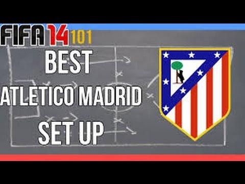 Atletico Madrid Fifa 14 Diego Simeone Tactics
