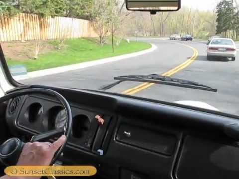1977 Automatic VW Bus Test Drive