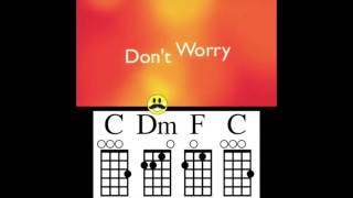 Don't Worry Be Happy Ukulele Chord Guide
