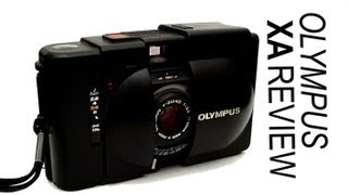 Olympus XA 35mm Film Camera Review
