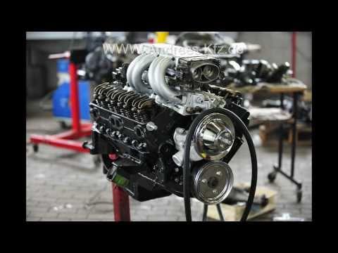 Opel Manta A V8 Umbau mit Chevy 5,0 Liter und Scheibenbremsen an der HA