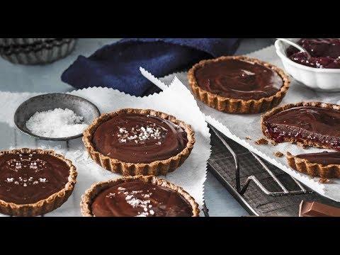 Рецепт от Гордона Рамзи - Шоколадные мини тарты