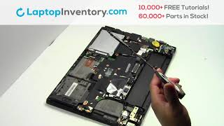 Repair Lenovo Thinkpad T450s Laptop Motherboard and Fan, Dismantle T440 E465 L440 20J4