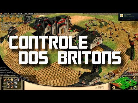 Age of Empires 2 HD Controle dos Britons AoE2HD Gameplay PT BR
