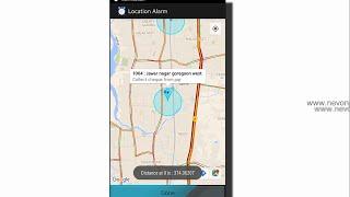 Android location Alarm