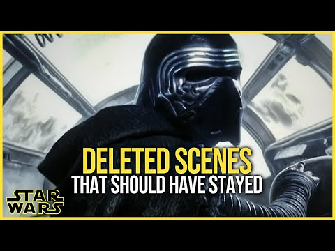 The DELETED SCENES that should have stayed | Star Wars Talk