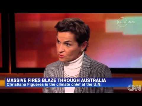 #AusPol CNN discusses Tony Abbott's climate change scepticism with UN Exec Sec Christinana Figueres