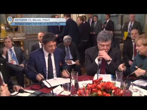Putin and Poroshenko Peace Talks: Ukrainian and Russian leaders hold talks in Milan
