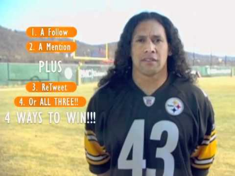 Join Troy Polamalu to Help Soldiers & Their Familes