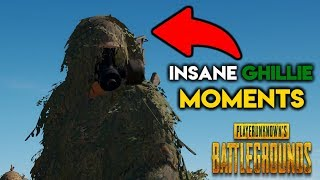 PUBG - MOST INSANE GHILLIE SUIT MOMENTS EVER (Playerunknown's Battlegrounds)