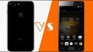 Apple Iphone 7 vs Lenovo p2