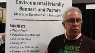 Greg Barber Earth Day, NYC Eco Friendly Printer, Banners and Posters