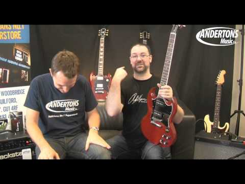 Gibson SG Standard, Special and P90 Comparison