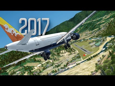 Worlds Hardest Approach   New Flight Simulator 2017 [P3D 4.0 - Ultra Realism]