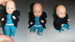 How to make Doll Baby Clothes
