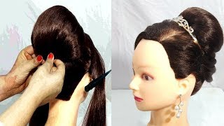 very easy juda hairstyles for party | Wedding Guest hairstyles | simple hairstyle | cute hairstyles