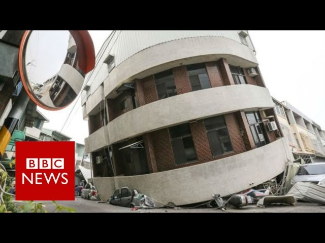 Taiwan Earthquake:  6.4 quake toppled buildings in city of Tainan - BBC News