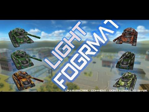 Tanki Online | Light Format Training | Clan:  BR Vs NonStop