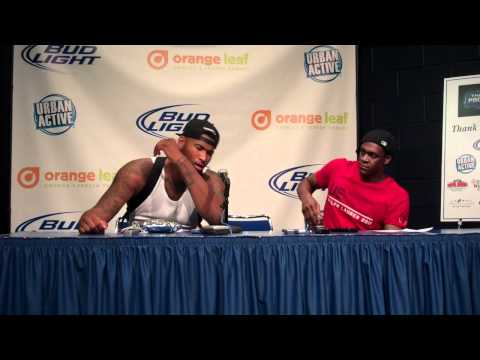 DeMarcus Cousins and Rajon Rondo Post Game Comments, The Pros vs The Dominicans