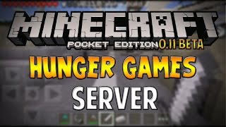 0.11 - SPRINT IN HUNGER GAMES! - Minecraft Pocket Edition