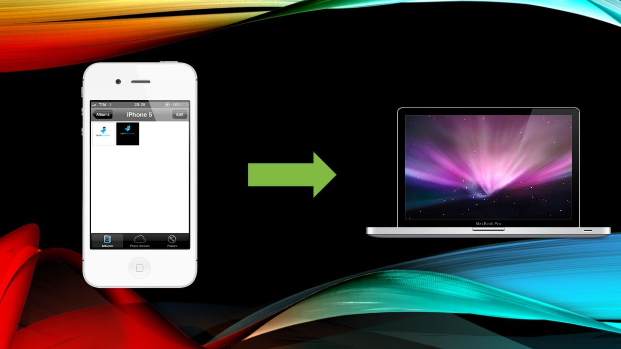 Como transferir as fotos do seu iphone ipad ipod para o pc for Imagenes para iphone