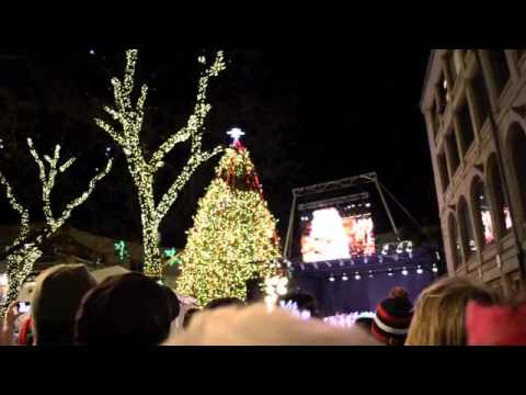 Simmons Voice: Faneuil Hall Holiday Tree Lighting