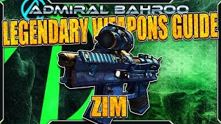 "Borderlands The Pre-Sequel: The ""Zim"" - Legendary Weapons Guide"