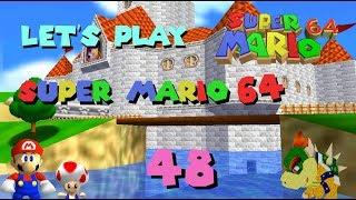 Let's Play Super Mario 64 [German\100%\Blind] #48 - Die Weiten der Wüste