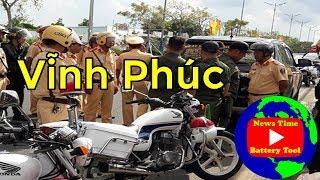 Phong cách hay bản chất của công an cảnh sát giao thông là vậy? bình xuyên vĩnh phúc