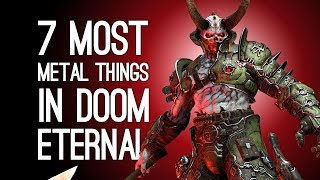 Doom Eternal New Gameplay: 7 Extremely Metal Things You'll Do