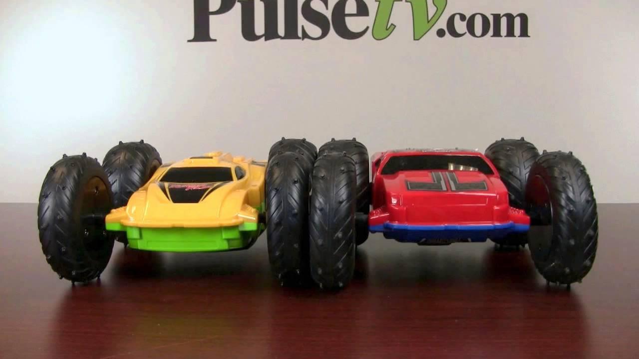 Toy Cars That Flip Over : Turbo flip r c car youtube