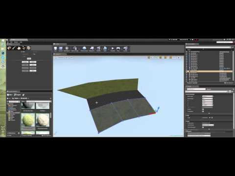 Создание уровня в Unreal Engine 4 - Редактирование брашей BSP