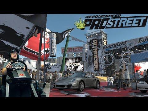 Очень злой Porsche 911 Turbo на скоростных гонках - Need for Speed: ProStreet