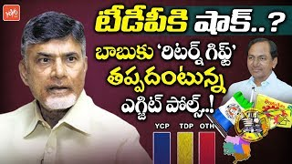 AP Exit Poll Survey Effect on TDP | KCR Return Gift to Chandrababu Naidu | YSRCP