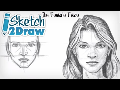 Watch How to Draw the Female Face