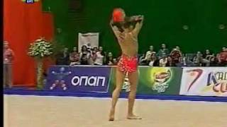 Ekaterina Donich ball 2010 world cup Kalamata