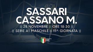 Serie A1M [11^]: Sassari - Cassano Magnago 26-24