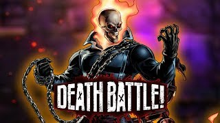 Ghost Rider Burns Rubber in DEATH BATTLE!