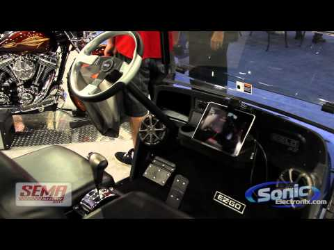 Kicker Car Audio Booth at SEMA 2011 NEW Products!