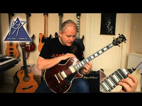Allan Holdsworth Style Extreme Legato Lesson Part 1