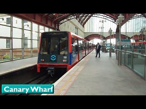 London DLR: Canary Wharf (B92 Stock)