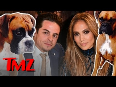 JLo in Doghouse with Neighbor after attack