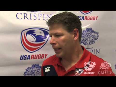 Coach Mike Tolkin discusses the 2013 USA Rugby Season