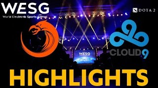 HIGHLIGHTS: TNC vs Cloud9 WESG Grand Finals Game 1