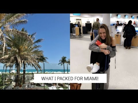 VLOG: packing for vacation | what I bring in my suitcase and carryon!