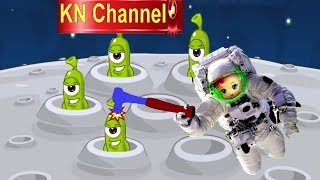 Trò chơi KN Channel BÚP BÊ  ĐI NHẶT RÁC  NGOÀI VŨ TRỤ GẶP NGƯỜI NGOÀI HÀNH TINH