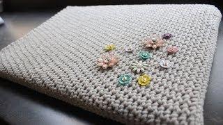 Basic Crocheted Laptop Sleeve