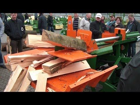 Posch Split Master 30. liegend bzw waagerecht Holzspalter. Log Splitter. Wood Splitter