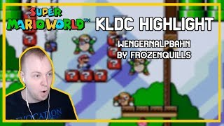 KLDC Highlight - WENGERNALPBAHN by FrozenQuills (SMW Kaizo)