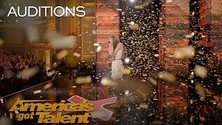 Download Lagu Courtney Hadwin: 13-Year-Old Golden Buzzer Winning Performance - America's Got Talent 2018 Gratis STAFABAND